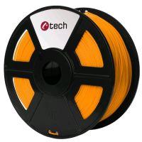 C-TECH tisková struna (filament), PETG, 1, 75mm, 1kg, oranžová (3DF-PETG1.75-O)