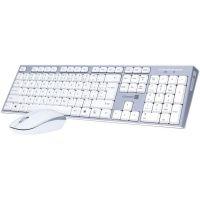 CONNECT IT bezdrátová klávesnice+myš,šedý,CZ/SK CI-1118 (PC)