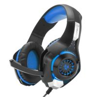CONNECT IT BIOHAZARD herní sluchátka s mikrofonem, modrá, USB, CHP-4510-BL (PC)