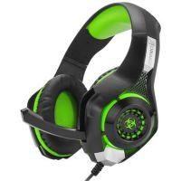 CONNECT IT BIOHAZARD herní sluchátka s mikrofonem, zelená CHP-4510-GR (PC)