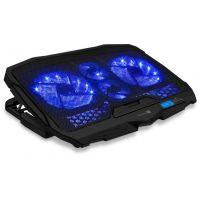 CONNECT IT CCP-2200-BK Chladící podložka pod notebook, černá, 6 rychlostí (PC)