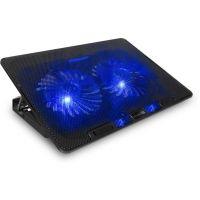 CONNECT IT chladící podložka FrostBreeze pro notebook, modré LED CCP-1910-BK (PC)