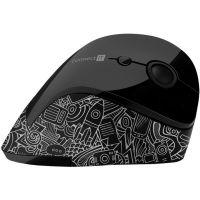 Connect IT FOR HEALTH ergonomická vertikální myš doodle (CMO-2705-DD) (PC)