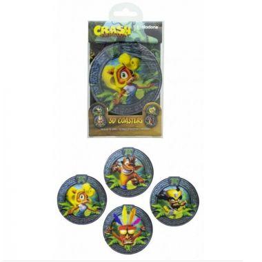 Crash Bandicoot 3d Podtácky