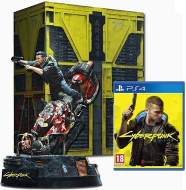 Cyberpunk 2077 (Collectors Edition) (PS4)