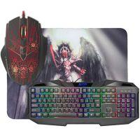 DEFENDER Anger MKP-019, Sada klávesnice s herní myší a podložkou, US (52021) (PC)