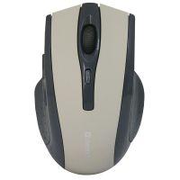 Defender Myš Accura MM-665, 1600DPI,optická, bezdrátová, černo-šedá (52666) (PC)