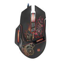 Defender Myš Killem All GM-480L, 3200DPI, optická, 8tl., drátová USB, černá, herní, podsvícená (PC)