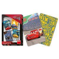 Dino Hrací karty CARS 3 Kvarteto