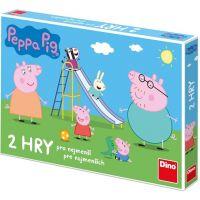 Dino Peppa Pig Pojď si hrát a skluzavky