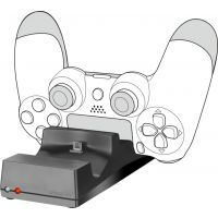 Dokovací stanice Speed Link Jazz pro PS4 DualShock 4 černý (SL-450000-BK) (PS4)