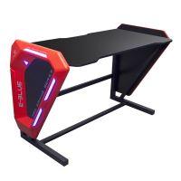 E-Blue Herní stůl EGT002 podsvícený LED, (EGT002BKAA-IA)