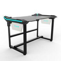 E-Blue Herní stůl EGT536BK, 136,5 x 80,3cm, 81 cm, podsvícený