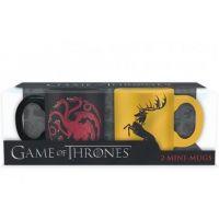 Espresso set Game of Thrones - Targaryen Baratheon