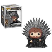Figurka Funko POP Deluxe: Game of Thrones S10 - Tyrion Sitting on Iron Throne (Funko POP 71)