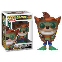 Figurka Funko POP Games: Crash Bandicoot Scuba Crash (Funko POP 421)