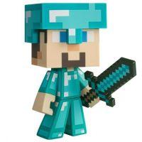 Figurka Minecraft Vinyl Diamond Steve