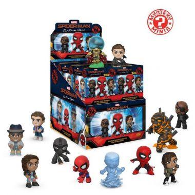 Funko POP Mystery Minis: Spiderman Daleko od Domova