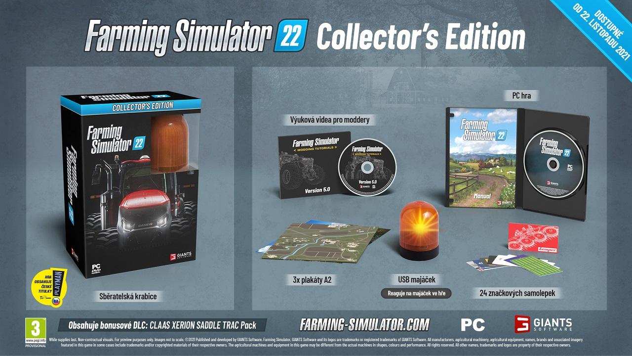 Farming Simulator 22 Collectors Edition PC