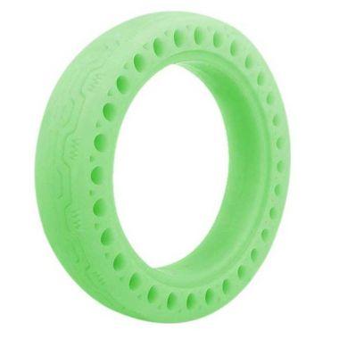 Fluorescenční bezdušová pneumatika pro Xiaomi Scooter, zelená (XISC045)