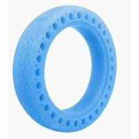 Fluorescenční bezdušová pneumatika pro Xiaomi Scooter, modrá