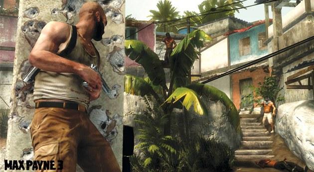 Screenshot ze hry Max Payne 3