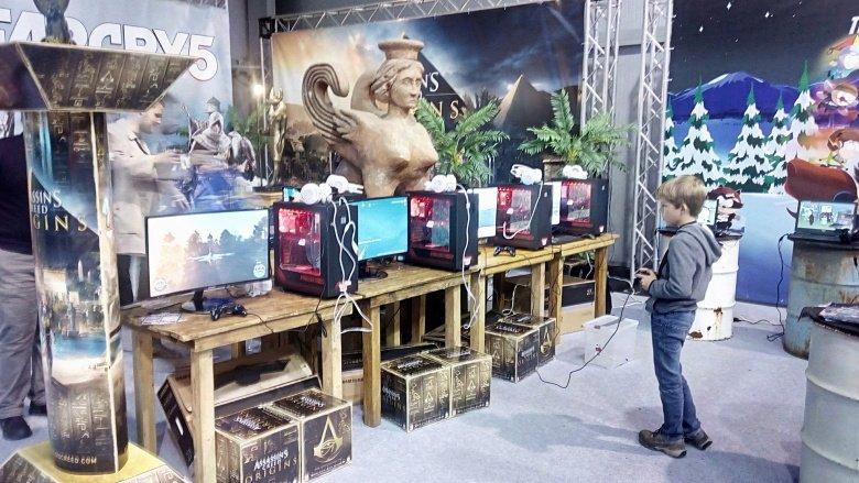 ef2e46a0f Nepřesunul jsem se ani o moc dál a šel jsem rovnou k dvoum konzolím  Playstation 4 v debugové verzi Pro, které poskytovali E3 demo Far Cry 5.