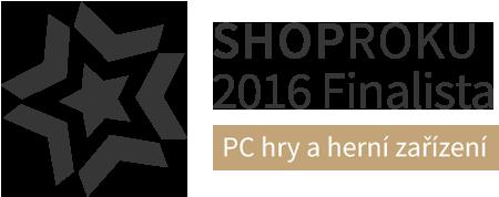ShopRoku 2016 Finalista - PC hry a herní zařízení