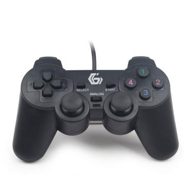 Gamepad GEMBIRD JPD-UDV-01, vibrační, USB (PC)