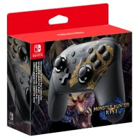 Gamepad Nintendo Switch Pro Controller MONSTER HUNTER RISE Edition (Switch)