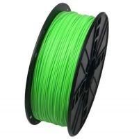 GEMBIRD 3DP-PLA1.75-01-FG Tisková struna Gembird PLA zelená (Fluorescent Green) 1,75mm 1kg