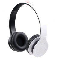 GEMBIRD Berlín BT bezdrátová Bluetooth sluchátka s vestavěným mikrofonem, bílá (BHP-BER-W)