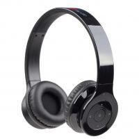 GEMBIRD Berlín BT bezdrátová Bluetooth sluchátka s vestavěným mikrofonem, černá (BHP-BER-BK) (PC)