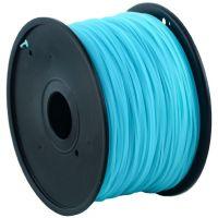 Gembird tisková struna (filament) PLA, 1, 75mm, 1kg,nebesky modrá (3DP-PLA1.75-01-BS)