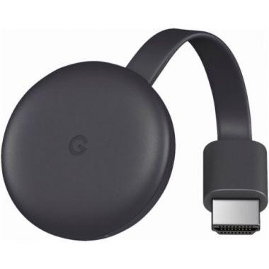 Google Chromecast 3, černý
