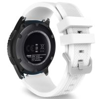 Tech-Protect SMOOTHBAND Gumový řemínek pro Samsung Galaxy Watch 46mm, bílý