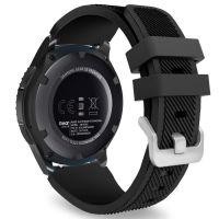 Tech-Protect SMOOTHBAND gumový řemínek pro Samsung Galaxy Watch 46mm, Černý