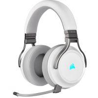 Headset Corsair Virtuoso RGB Wireless High-Fidelity - bílý (CA-9011186-EU) (PC)