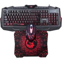 Herní klávesnice Marvo KM400 + podložka s myší (KM400+G1 CZ) (PC)