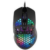 Herní myš C-TECH Scarab, casual gaming, 7200 DPI, RGB podsvícení, USB (PC)