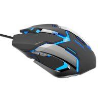 Herní myš E-BLUE Auroza Gaming, 4000DPI, optická, (EMS639BKCZ-IU) (PC)