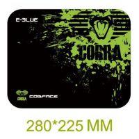 Herní podložka E-blue pod myš Cobra S, černo-zelená 280x225mm (PC)