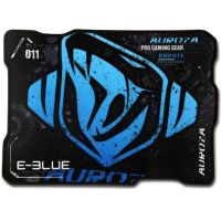 Herní podložka pod myš E-Blue Auroza M, černo - modrá, 36,5x26,5 cm (PC)