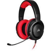 Herní sluchátka Corsair HS35 - černý/červený (CA-9011198-EU) (PC)