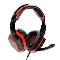 Herní sluchátka Red Fighter H2, červeno-černá, 3.5mm jack (PC)