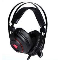 Herní sluchátka Red Fighter H3, podsvícená, černá,USB + 3.5mm jack (PC)