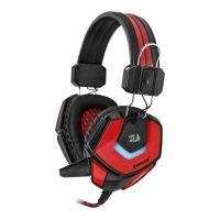 Herní sluchátka Defender Ridley s mikrofonem, červeno-černá (PC)