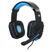 Herní sluchátka s mik TRACER BATTLE HEROES Xplosive BLUE (PC)