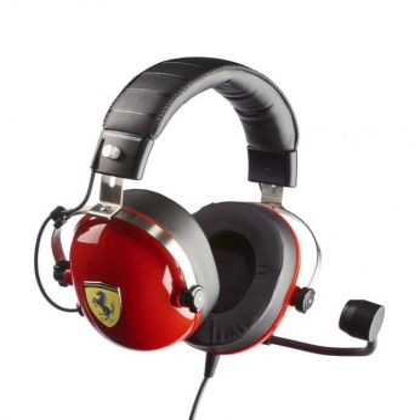 Herní sluchátka s mikrofonem Thrustmaster T.RACING SCUDERIA FERRARI edice (PC/PS4/XONE/SWITCH) (PC)