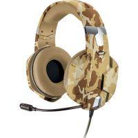 Herní sluchátka TRUST GXT322 Carus Desert (PC)
